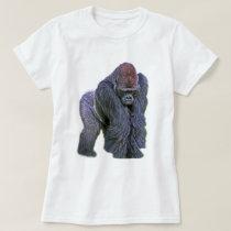 Silverback Gorilla, White Back (g2p2) T-Shirt