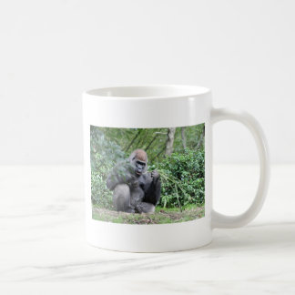 silverback gorillas coffee mug