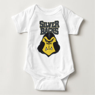 Silverback Logo WW Infant Creeper