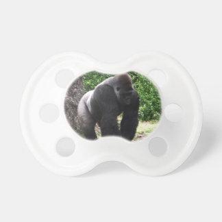 Silverback Male Gorilla walking head down.jpg Pacifier