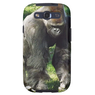 Silverback Male Lowland Gorilla Standing Up Samsung Galaxy SIII Covers