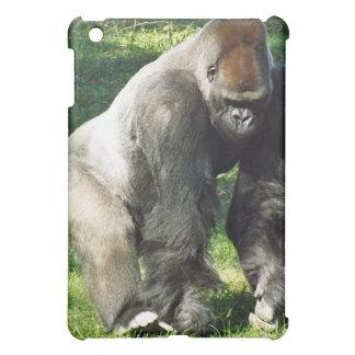Silverback Male Lowland Gorilla Standing Up iPad Mini Cover