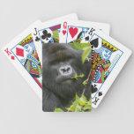 Silverback Mountain Gorilla Playing Cards