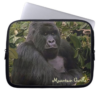 Silverback Mountain Gorilla Wildlife Laptop Sleeve