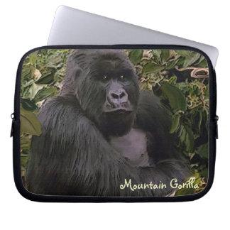 Silverback Mountain Gorilla Wildlife Laptop Sleeve