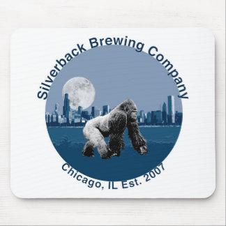 SilverBack que elabora cerveza el Co. Alfombrillas De Ratones