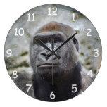 Silverback Wall Clock