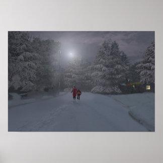 Silvercreek en la nieve póster