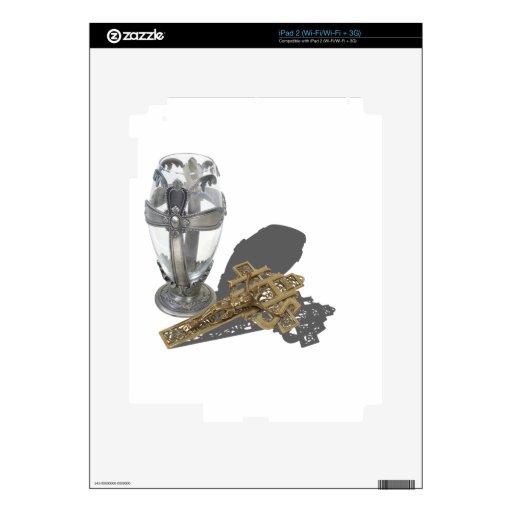 SilverCrossChaliceCrucifix042112.png iPad 2 Calcomanía