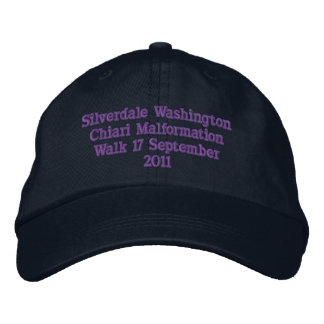 Silverdale Washington Gorras De Beisbol Bordadas