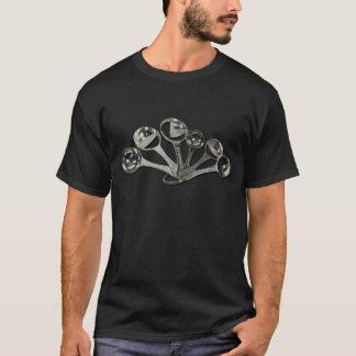 SilverDividedMeasuringSpoons073011 T-Shirt