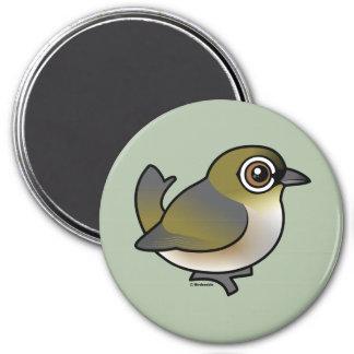 Silvereye 3 Inch Round Magnet