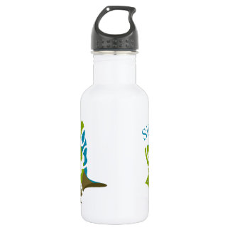 Silvereye bird water bottle