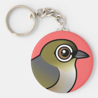 Silvereye Keychain
