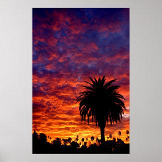 Silverlake Sunrise Poster