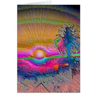 Silverlake Sunset 1 Card