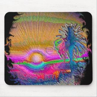 Silverlake Sunset 1 Negative Mousepad
