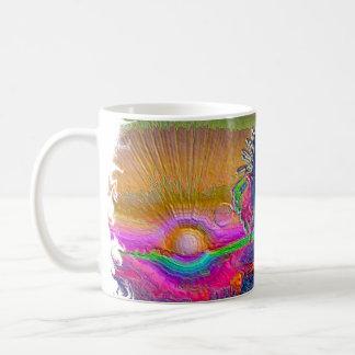 Silverlake Sunset 1 oval Coffee Mugs