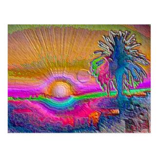 Silverlake Sunset 1 Postcard