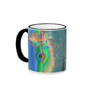 Silverlake Sunset Negative Coffee Mugs
