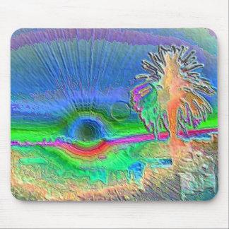 Silverlake Sunset Negative Mousepad