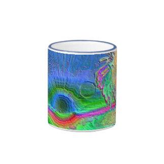 Silverlake Sunset Negative Mugs
