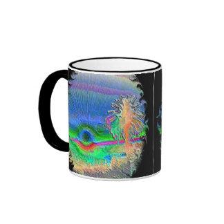 Silverlake Sunset Negative Oval 2 Coffee Mug