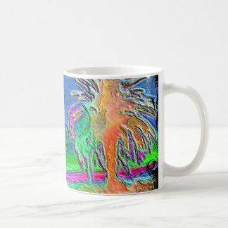 Silverlake Sunset Negative Oval 2 Coffee Mugs