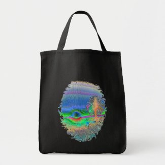 Silverlake Sunset Negative Oval bag