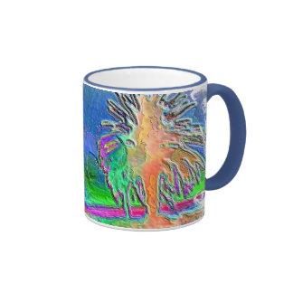 Silverlake Sunset Negative Oval Coffee Mug