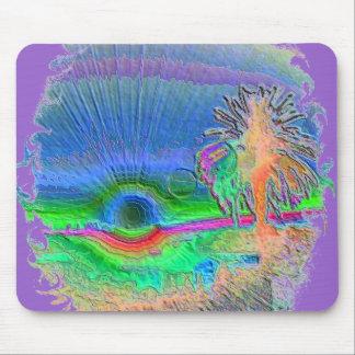 Silverlake Sunset Negative Oval Mousepads