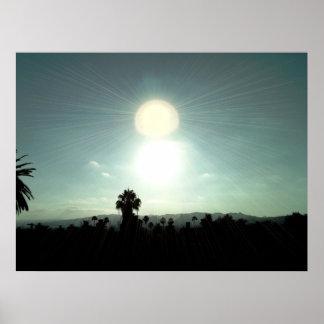 Silverlake Sunset Poster