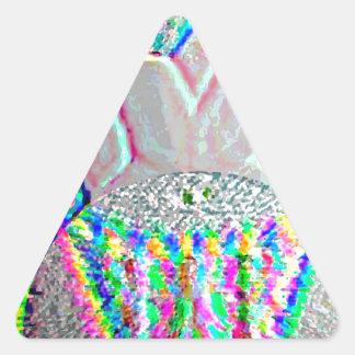 Silverline 2013 - Merry Christmas HappyNewYear Triangle Sticker