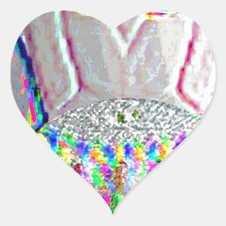 Silverline 2013 - Merry Christmas HappyNewYear Heart Sticker
