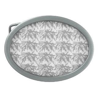 Silverline  Shining  Chinese Eastern Pattern Oval Belt Buckle