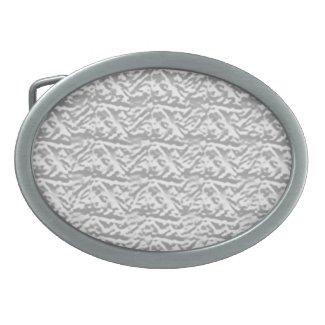 Silverline Shining Vintage Pattern Oval Belt Buckle