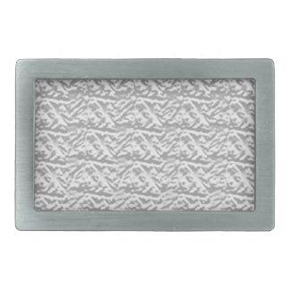 Silverline  Shining  Vintage Pattern Rectangular Belt Buckle