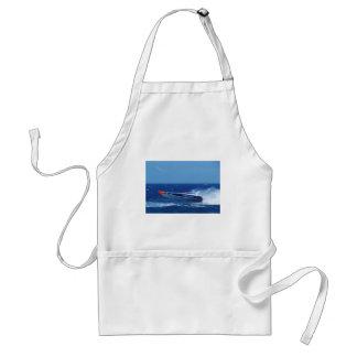 Silverline sponsored powerboat. adult apron