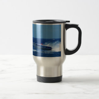 Silverline sponsored powerboat. travel mug