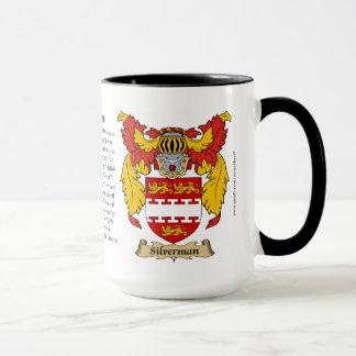 Silverman Family Coat of Arms Mug