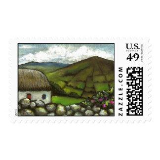 Silvermines cottage stamp