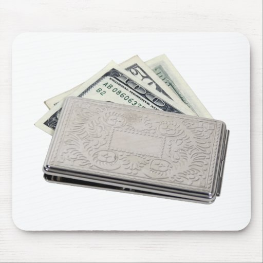 SilverMoneyHolder042810 Mouse Pad
