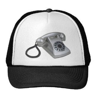 SilverRetroDeskPhone052711 Gorras
