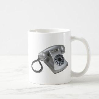 SilverRetroDeskPhone052711 Coffee Mug
