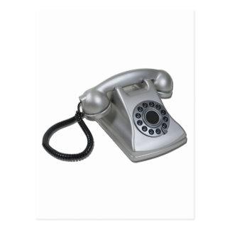 SilverRetroDeskPhone052711 Post Cards