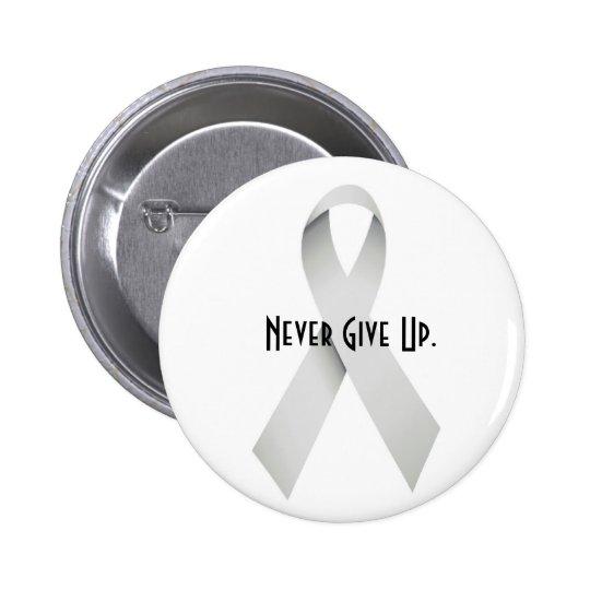 Silverribbons Pinback Button