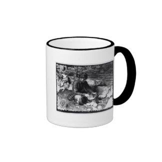 Silversmith at work, c.1914 ringer mug