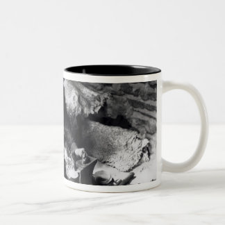 Silversmith at work, c.1914 Two-Tone coffee mug
