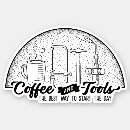 Silversmith Coffee and Tools Sticker