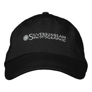 Silversunbeam bordó el casquillo (el negro solamen gorra de beisbol bordada